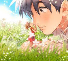Arrietty and Sho / Shawn - The Secret World of Arrietty / Kari-gurashi no Arrietty