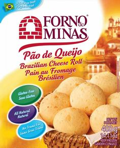 Forno de Minas Cheese Rolls - These are crispy on the outside like French bread and have soft chewy cheese on the inside. They have a good taste and texture for being gluten free. I dip mine in marinara sauce.