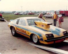 Vintage Drag Racing - Pro Stock - The Proud Rebel