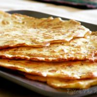 Low Carb Tortillas  1/4 cup plus 2 tablespoons water 2 eggs 2 tablespoons extra virgin olive oil (or coconut oil) 1 ½ tablespoons of coconut flour 2 tablespoons of almond flour ½ tablespoon of ground flax seed ¼ teaspoon baking powder