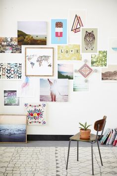 Wall collage inspiration