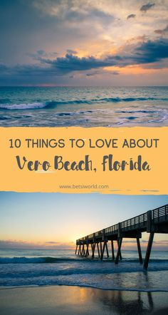 Vero Beach, Florida is a low-key coastal town with an upscale feel. These 10 things to love about Vero Beach will have you packing. Florida East Coast, East Coast Beaches, Vero Beach Florida, East Coast Travel, Destin Beach, Florida Vacation, Florida Travel, Florida Beaches, Beach Vacations