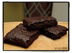 Brownies fondant