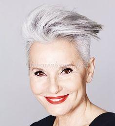 rövid+frizurák+50+feletti+nőknek+-+modern+tupírozott+rövid+frizura+ősz+hajból