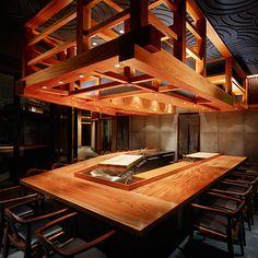 TAMASAKA/Marunouchi │ RESTAURANT │ PROJECT │ age インテリアデザインのエイジ