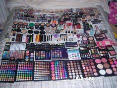 This Is pretty much what my collection looks like. Some call it excessive, I call it perfection! :)