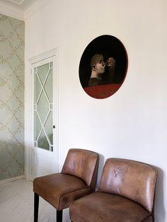 #decoración  #interiorismo #muebles #cristinarodriguez Mesa Tulip, Estilo Art Deco, Full House, Accent Chairs, Barcelona, Furniture, Home Decor, Interior Inspiration, Amazing
