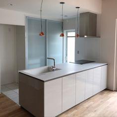 Natural Interior, Loft Spaces, Double Vanity, Home Kitchens, Ideal Home, Kitchen Decor, Kouji, Sink, House Design