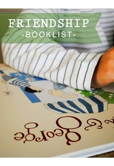 A Friendship Booklist (part 1) + Fun Friendship Activities...