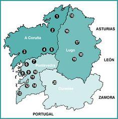20 sendas fluviales en Galicia