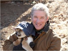 Hachi and Richard Gere