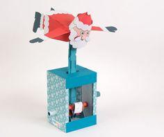 Flying Santa - Download and Make   www.robives.com