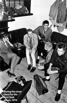Joe, Mick and Paul joined by a fan