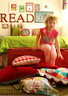 Meg's Kid-Friendly Vintage Chic Playroom — Kids' Room Tour