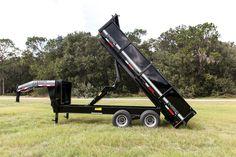 U Dump - Logging - Gooseneck Dump Trailer 8' X 16' - 24K