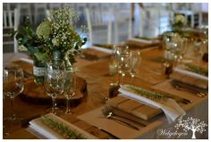 Welgelegen Wedding Venue - Gips & Rosemary Wedding Venues, Table Settings, Table Decorations, Weddings, Home Decor, Wedding Reception Venues, Wedding Places, Decoration Home, Room Decor