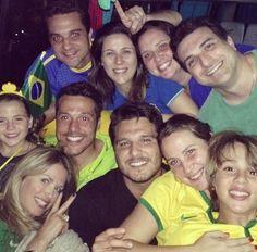 Julio César com a esposa Susana Werner e amigos (Foto: Reprodução/Instagram)
