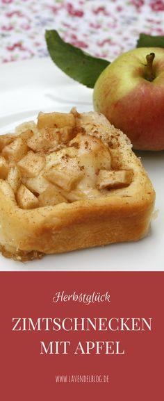 Ein leckeres Apfel Rezept bzw. Kuchenrezept mit Apfel sind Zimtschnecken mit Apfel. Das Zimtschnecken Rezept ist ideal, um die Apfelernte aus dem Garten lecker zu verbrauchen. Natürlich sind die Hefeteigschnecken mit Apfel auch zu jeder anderer Jahreszeit lecker.