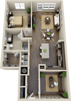 CHATEAU $2152 - $2222 Bedrooms: 1 Bathrooms: 1 1073 sq. ft