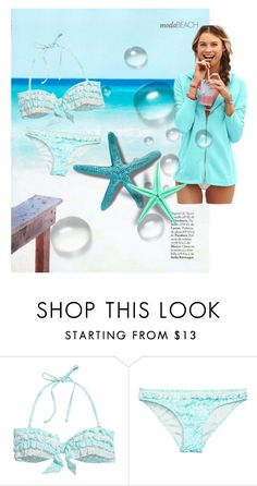 """Moda beach"" by bel-ochka ❤ liked on Polyvore"