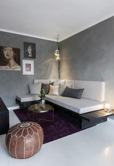 - Det krevet litt mot, men gir et helt nytt uttrykk. Scandinavian Living, Houzz, Coffee Shop, Tv, Interior, Table, Furniture, Home Decor, Paint