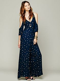 Free People Tainted Star Jumpsuit