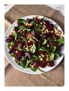 Delicious seasonal beetroot salad.This salad has lovely earthy flavours, simply dressed and totally moreish. I love this served with tasty new potato and crumbly lancashire cheese tart.Or ...