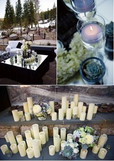 Inspiration to Reality: Lake Tahoe Wedding Inspiration from Merrily Wed | Style Me Pretty