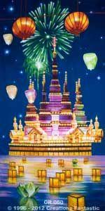 Backdrop OR060 Oriental Celebration Panel 6