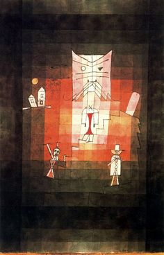 The Mountain of the Sacred Cat | Paul Klee