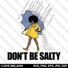 Don't Be Salty Girl SVG Plus Size Birthday Outfits, Image Paper, Black Anime Characters, Small Town Girl, Silhouette Cameo Projects, How To Make Tshirts, Cartoon Wallpaper, Black Girl Magic, Birthday Party Decorations
