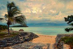 Rainbow Beach, Eleuthera, Bahamas