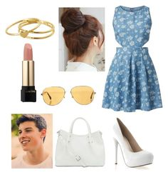 """Take a walk with Shawn Mendes #57"" by inesstyles14 ❤ liked on Polyvore featuring beauty, Madam Rage, Gorjana, Vince Camuto, Chanel, Pin Show and Lancôme"