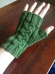 Ravelry: Pathways Fingerless Mitts pattern by Elizabeth Anne free pattern. Fingerless Gloves Knitted, Knit Mittens, Knitted Hats, Crochet For Kids, Knit Crochet, Mittens Pattern, Knitting Patterns Free, Free Pattern, Free Knitting