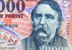 HUF 20,000 banknote.