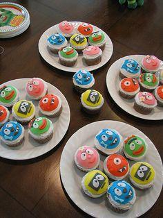 Yo Gabba Gabba Cupcakes