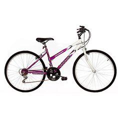 Titan Wildcat Lavendar & White 12-Speed Women's Bike