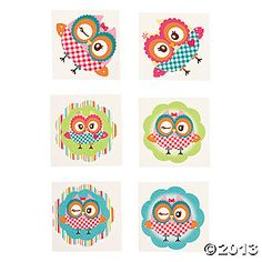 Owl Party Tattoos