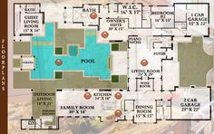 Tuscan Sun floorplan - Golden Oak at Walt Disney World Resort - a world embraced by luxury, privacy, and the Magic of Disney. This magnificent resort community offers first-ever whole ownership of custom single-family homes at Walt Disney World® Resort.