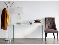 """Structube - Living room : Accent tables : Visio 49.5"""" L x 15.5"""" W x 27.5"""" H"""