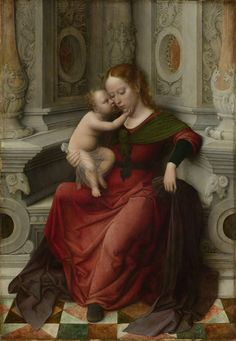 Attributed to Adriaen Isenbrant:  Virgin and Child  (ca. 1530 - ca. 1540, Rijksmuseum, Amsterdam)