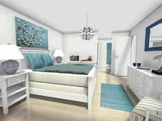 Home interior design and floor plans using RoomSketcher by @mydaysni