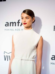 Taylor Hill attends the 2015 amfAR Inspiration Gala on June 16, 2015 in New York City.