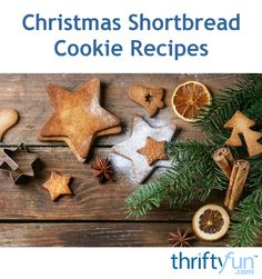 This page contains a Christmas shortbread cookie recipe. Shortbread cookies are perfect for the holiday season.