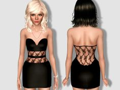 Margeh-75's Sheer Lace Dress
