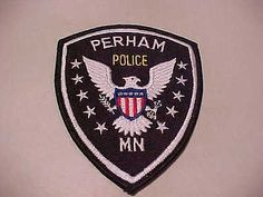 Perham Minnesota Police Patch