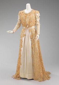 Jacques Doucet (French, Paris 1853–1929 Paris)  Dress (Tea Gown)  ca. 1907