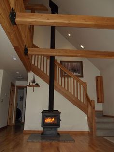 Beautiful Wood Burning Stove!