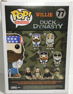 (TAS031771) - Pop! Vinyl Figure Bobble Head - Duck Dynasty Willie #77