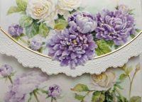 Carol Wilson Karten: Roses & Peonies (Rosen & Peonies)